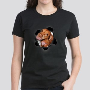 Vizsla Lickers (black) T-Shirt